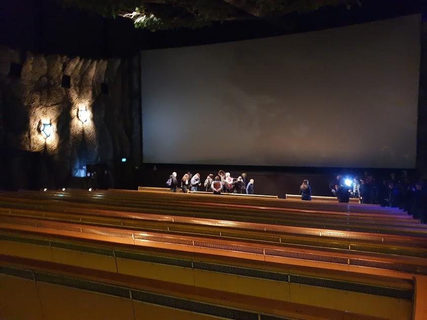 Laatste voorstelling 3D-film Pandadroom