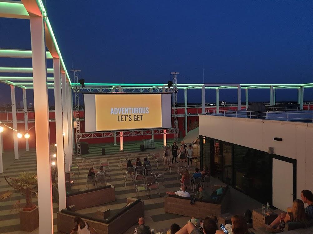 Rooftop Cinema Utrecht